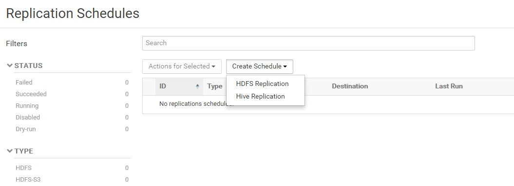 Data replication across Hadoop clusters using Cloudera manager ...